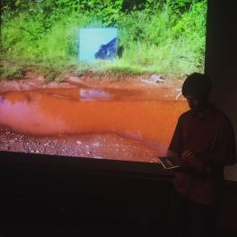Josh Wilson performing 'Site Writings'