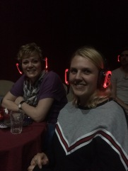 Rachel and Fran from East Street Arts tuning in to 'Project (?/?)' by Louis-Jack Horton-Stephens