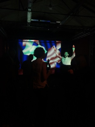 And the dancing begins with DJ set by Elliott Horton-Stephens and the live-mixed 'Wolff Machine' by Jacob Wolff